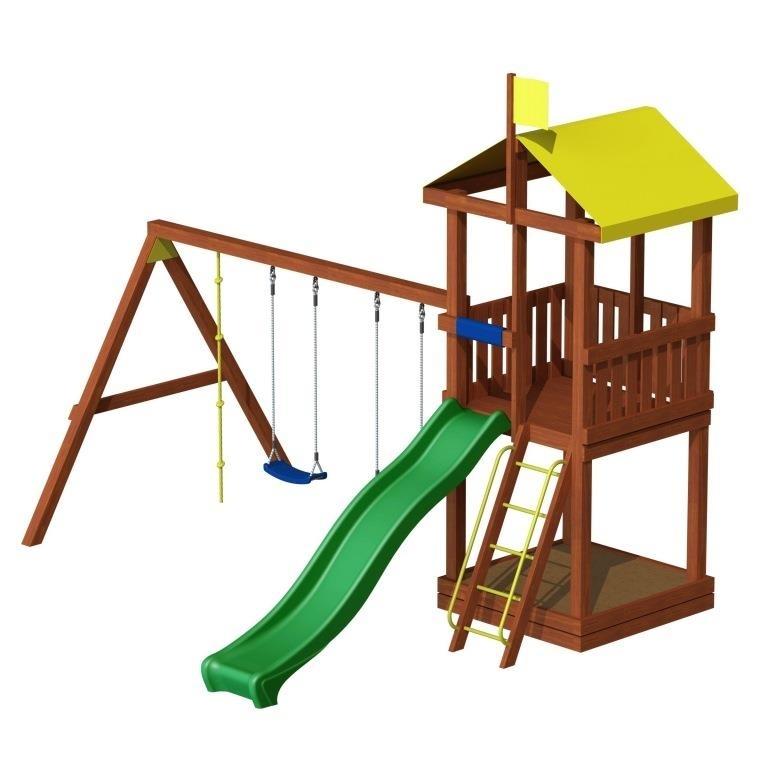Детские площадки Детская игровая площадка «Джунгли 3» дж3.jpeg