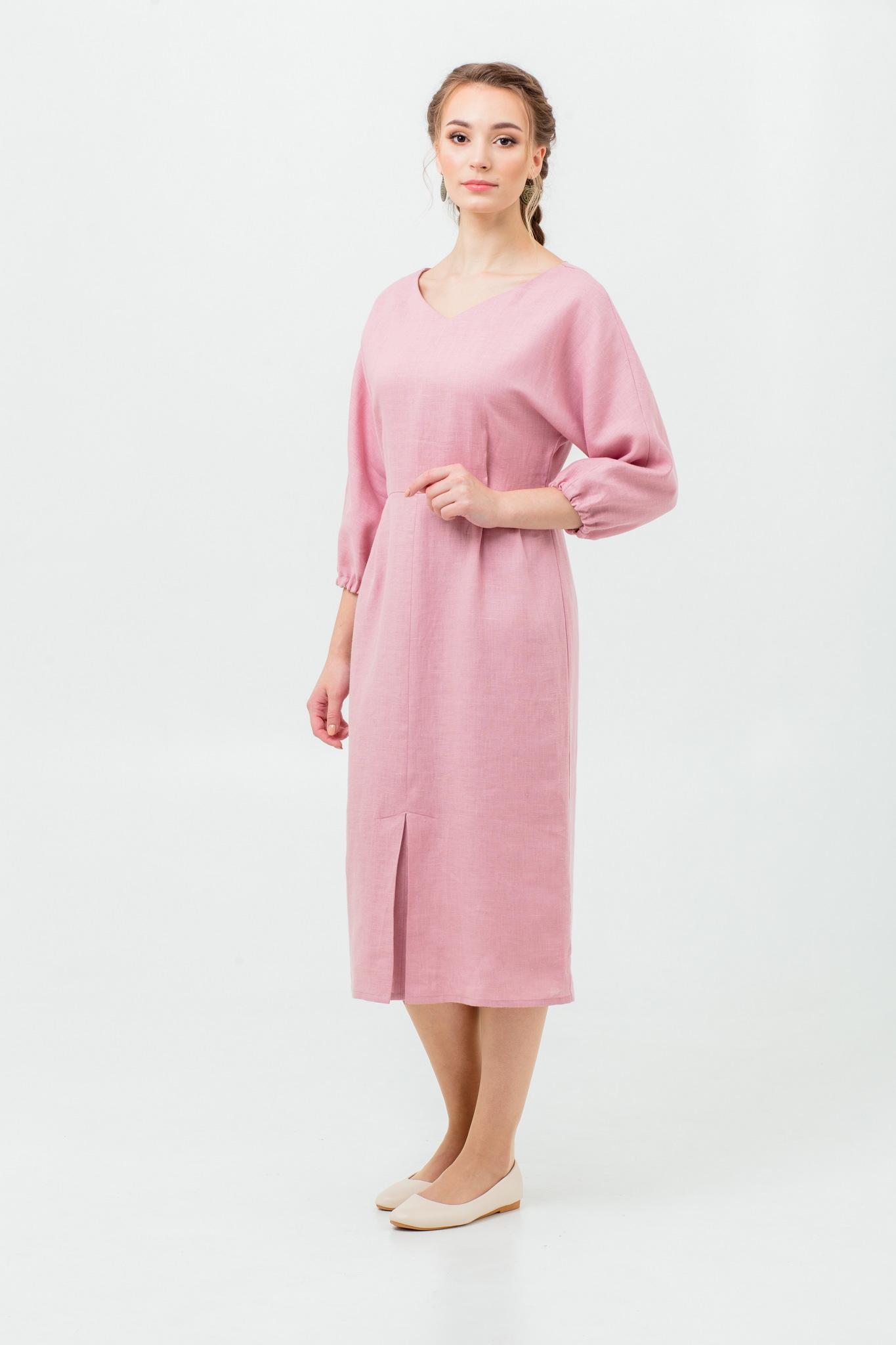 Платье из льна онлайн купить