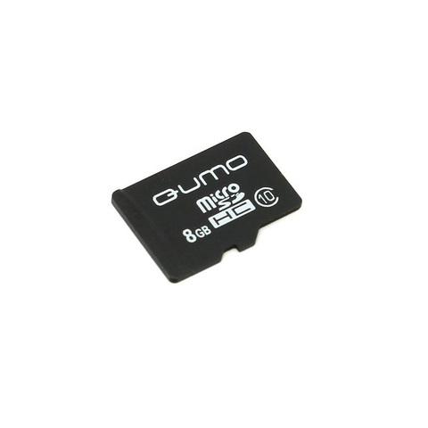 Карта памяти QUMO microSD 8Gb 10 class