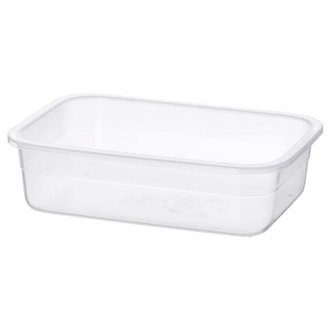 ИКЕА/365+ Контейнер для продуктов прямоугольн формы, пластик