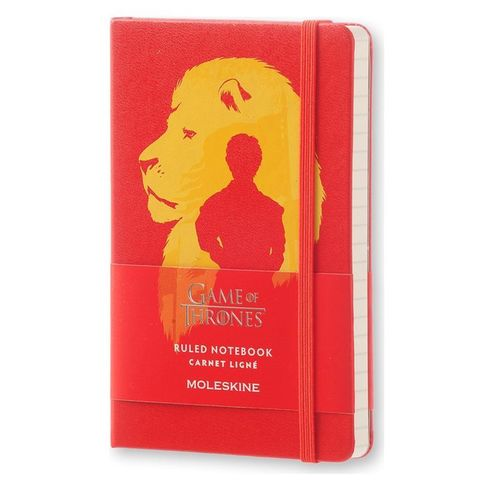 Блокнот Moleskine Limited Edition GAME OF THRONES LEGTMM710 Pocket 90x140мм 192стр. линейка