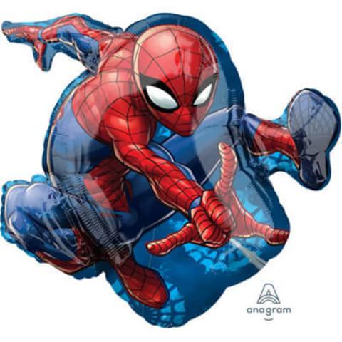 Фигура фольга человек паук в прыжке