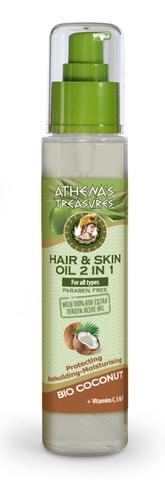 Масло для волос и кожи 2в1 Athenas Treasures 125 мл