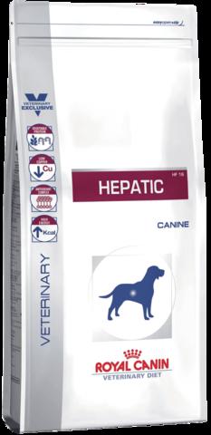 Royal Canin Hepatic HF16 12 кг