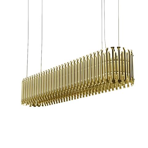 Подвесной светильник копия Matheny by Delightfull L150 (горизонтальный)