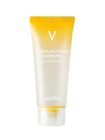 Medi Flower Aronyx Тонизирующая ночная маска с витамином С ARONYX Vitamin Brightening Sleeping Pack 100мл