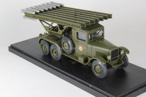 ZIS-5 BM-13 1:43 Miniclassic