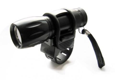 Фонарь передний 9 LED, 2F JY-829, черный