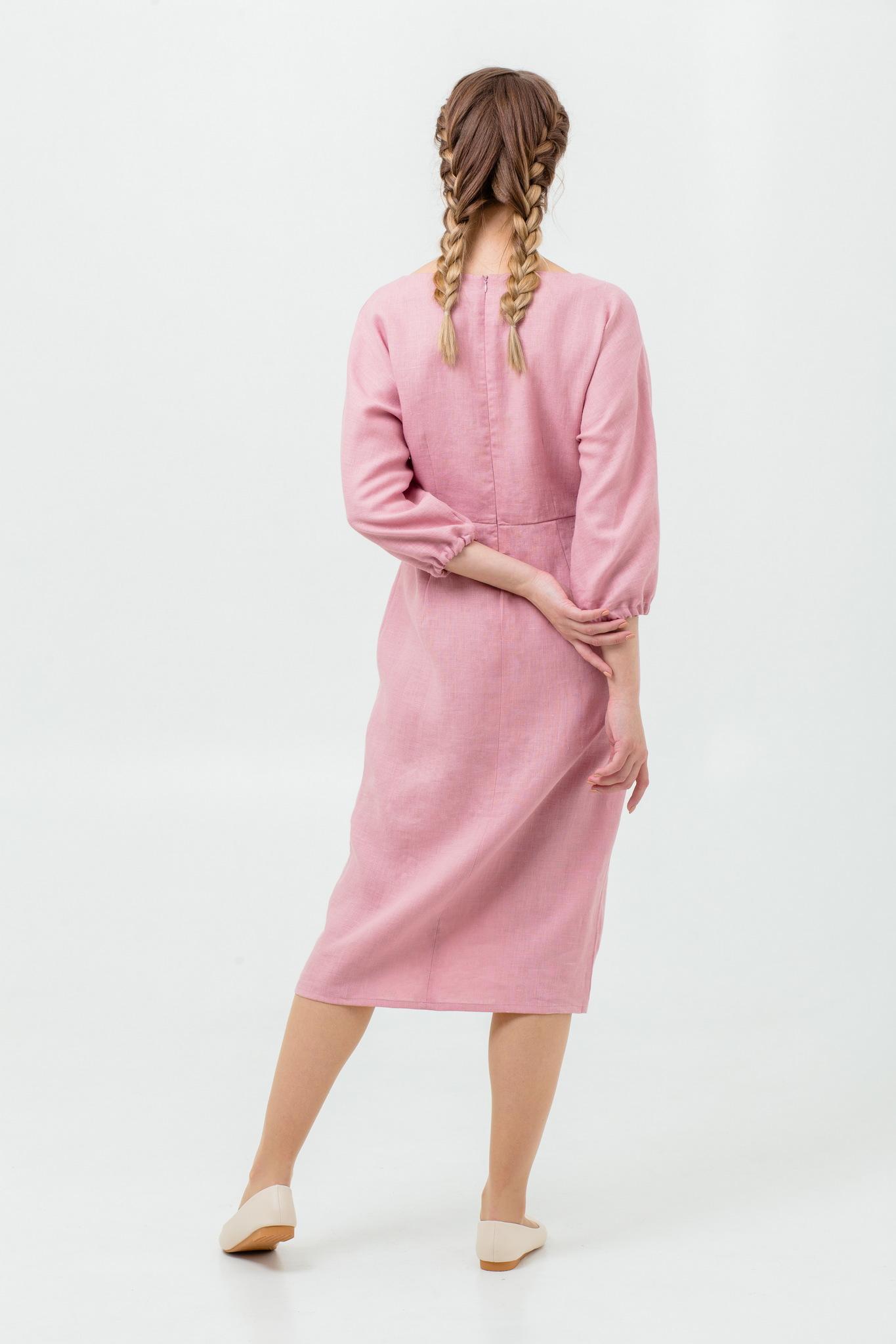 Платье русское народное Нежный румянец