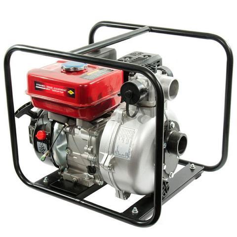 Мотопомпа бензиновая высоконапорная DDE PH50   (вых 50 мм,5,5лc,52м.,33 м куб/час,3,6л,35кг) (PH50)