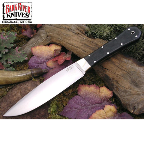 Нож Bark River модель Rogue Black Canvas Micarta