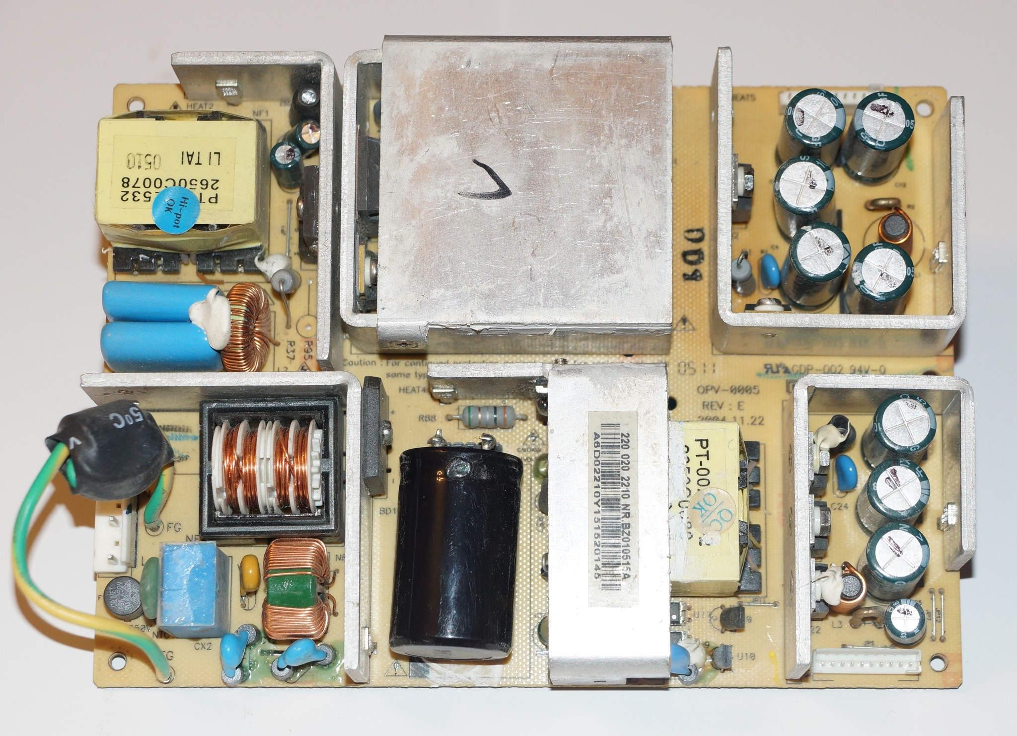 OPV-005 REV:E GDP-002 94V-0 блок питания телевизора Viewsonic