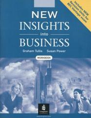 New Insights into Business Workbook New Edition