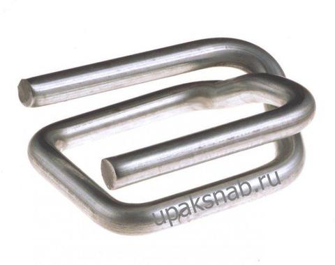Пряжка проволочная 16, для ленты 15-16 мм, оцинкованная