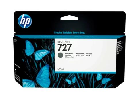Картридж струйный HP C1Q12A (727), чёрный матовый