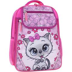 Рюкзак школьный Bagland Отличник 20 л. 143 малина 684 (0058070)