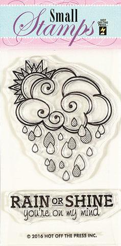 Штамп «Солнце или дождь?»