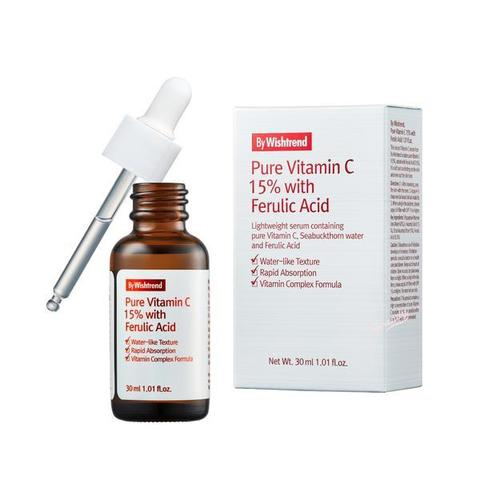 By Wishtrend Pure Vitamin C 15% with Ferulic Acid Pure Vitamin C 15% with Ferulic Acid 30мл