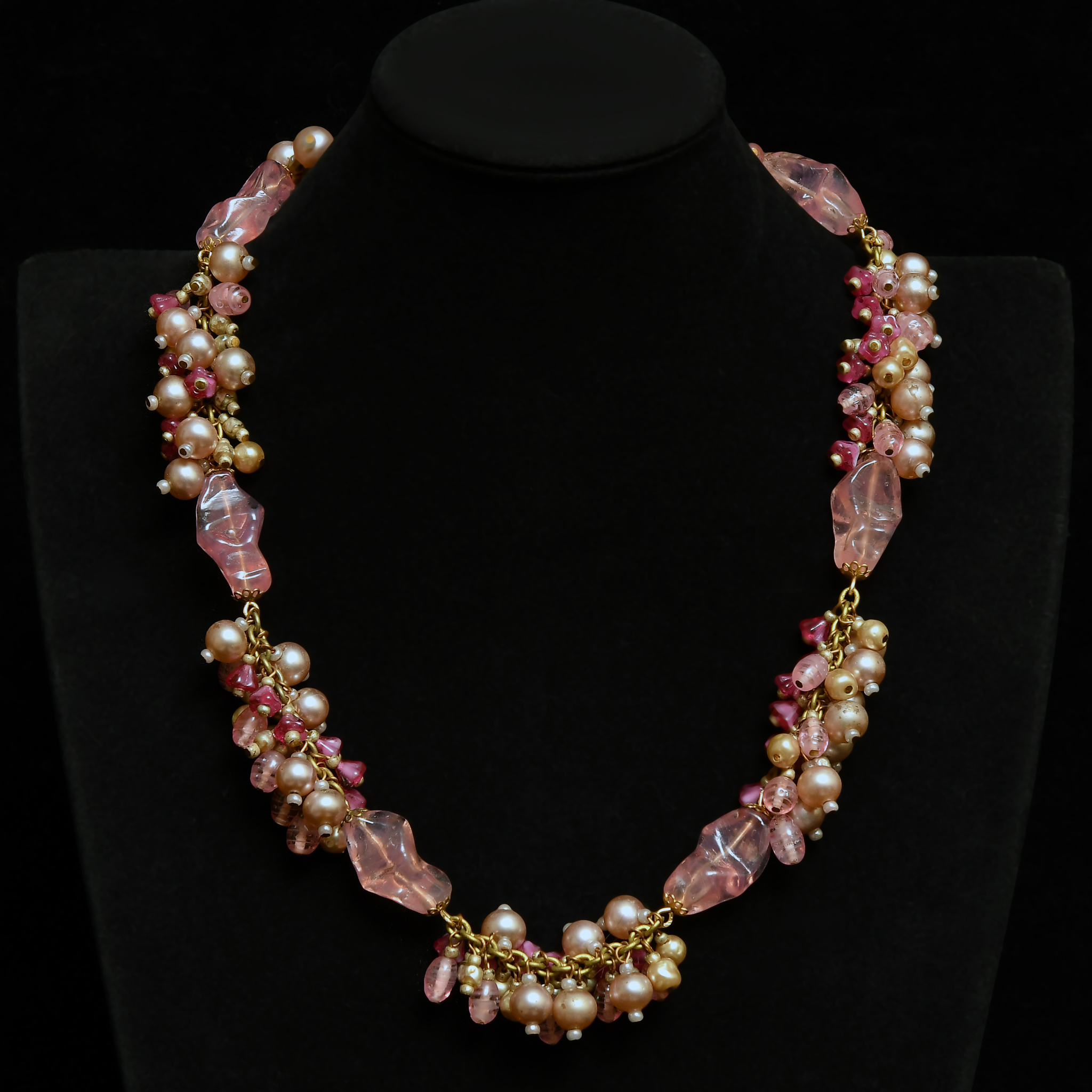 Exquisite jewelry set by Miriam Haskell