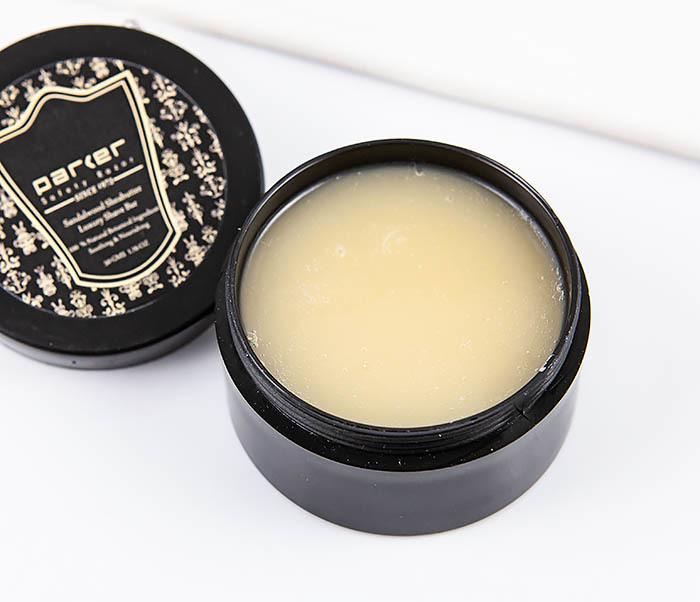 RAZ469 Натуральное мыло для бритья PARKER с маслом ши и сандалом (50 гр) фото 05
