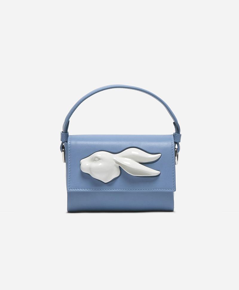 Сумка Flap Mini Rabbit Head Bag Ciel