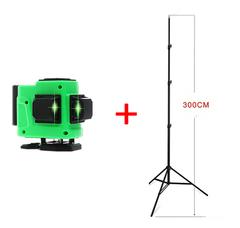 Лазерный уровень FARRTRAN R-1 12 зеленых лучей(нижний горизонт) + штатив 3 метра