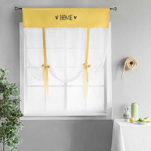 Готовая штора Lolo желтый
