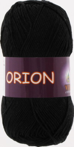 Пряжа Orion Vita cotton 4552 Черный