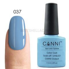 Canni, Гель-лак № 037, 7,3 мл