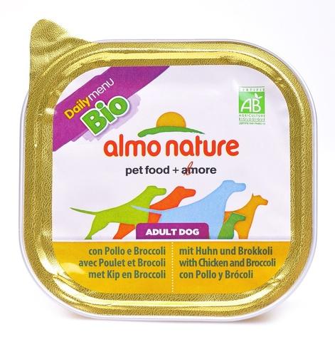 Консервы (ламистер) Almo Nature Daily Menu Bio - Pate Chicken&Brocolli