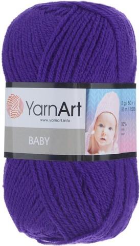 Пряжа YARNART BABY № 203 фиолетовый