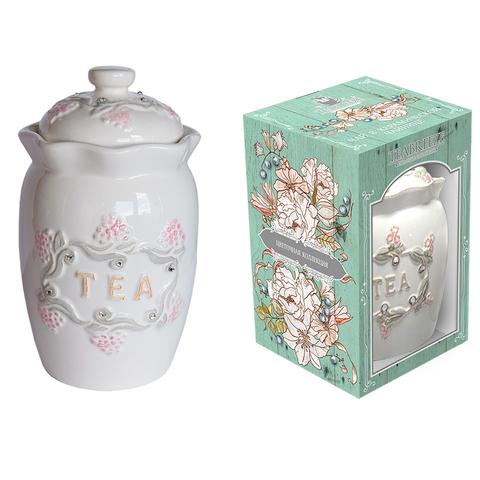 Подарочная керамическая чайница