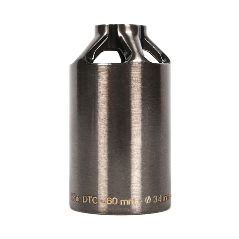 Пега для самоката ETHIC Steel Pegs 60mm (Transparent Black)