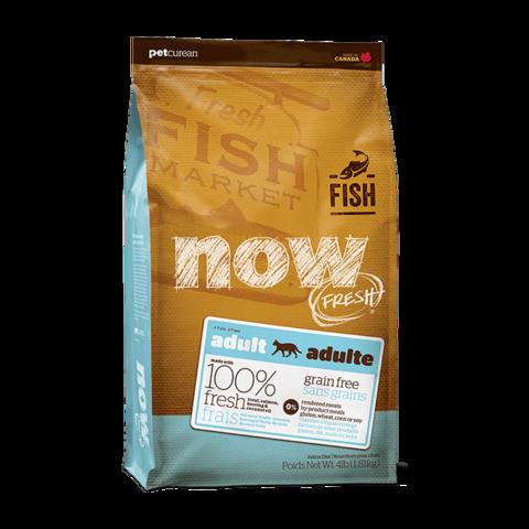 Now Fresh Сухой корм для взрослых кошек с чувствительным пищеварением с форелью и лососем беззерновой