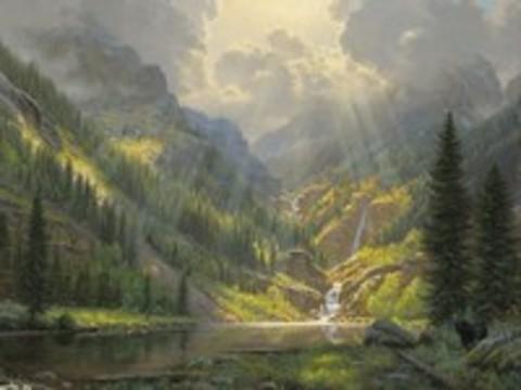 Картина раскраска по номерам 50x65 После дождя