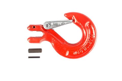 Крюк с вилочным креплением и защелкой TOR г/п 2,0 тн, шт