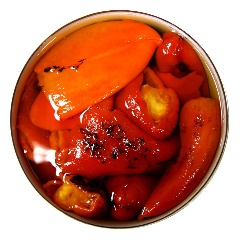 Перец сладкий Casa Rinaldi жареный красный в металлической банке 4,2 кг