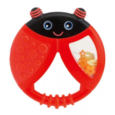 Прорезыватель-игрушка Funny Relax БожьЯ Коровка,с погремушкой,6мес.+ (стандарт)