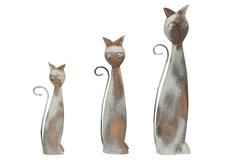 Декор Secret De Maison Кэтс (CATS) набор из 3 штук ( mod. M-11464 ) — натуральный/white wash