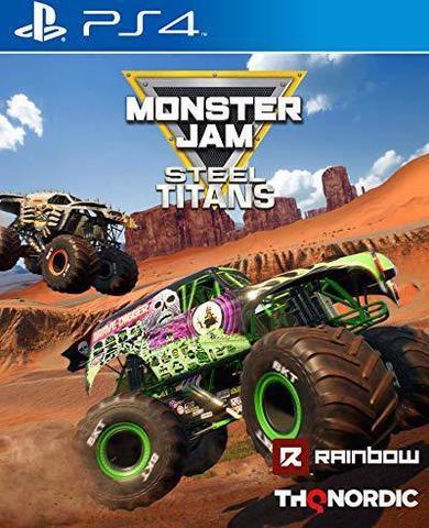 PS4 Monster Jam Steel Titans (английская версия)
