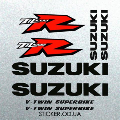 Набор наклеек на мотоцикл Suzuki TL 1000R