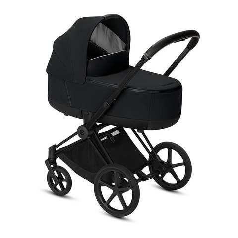 Коляска для новорожденных Cybex Priam III Premium Black на шасси Matt Black