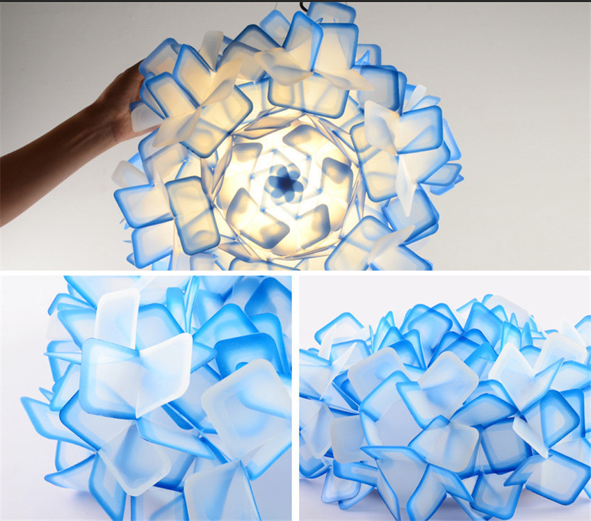 Подвесной светильник Clizia by Slamp D70 (голубой)