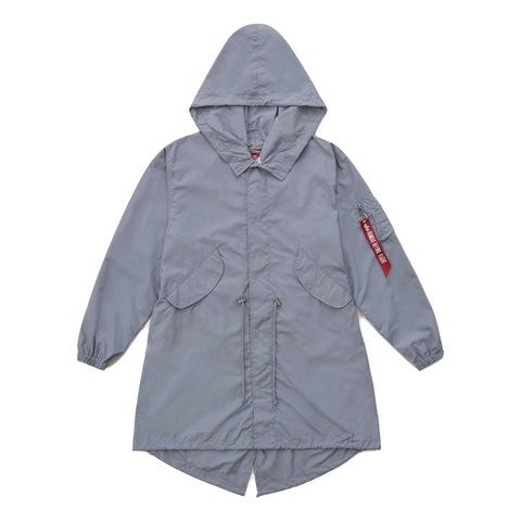 Куртка Alpha Industries Shell Fishtail Parka W Cadet Gray