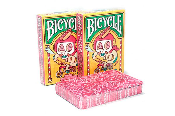Цветные карты Bicycle Brosmind