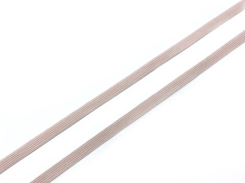 Резинка отделочная серебристый пион 6 мм (цв. 168)