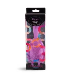 Framar Detangle Brush - Purple Reign | Распутывающая щетка для волос «Благородный пурпур» в упаковке