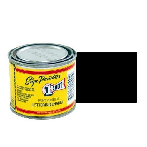 Пинстрайпинг (pinstriping) 199-L Эмаль для пинстрайпинга 1 Shot Черный (Lettering Black), 118 мл LetteringBlack.jpg