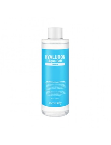 Гиалуроновый тонер с эффектом микро-пилинга SECRET KEY HYALURON SOFT MICRO-PEEL TONER (500ml)