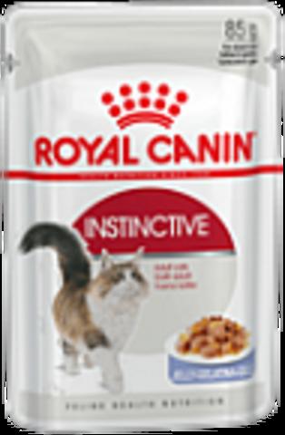 Instinctive (в желе) - для кошек старше 1 года 85г.